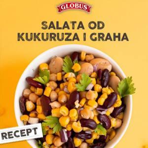 salata od kukuruza i graha